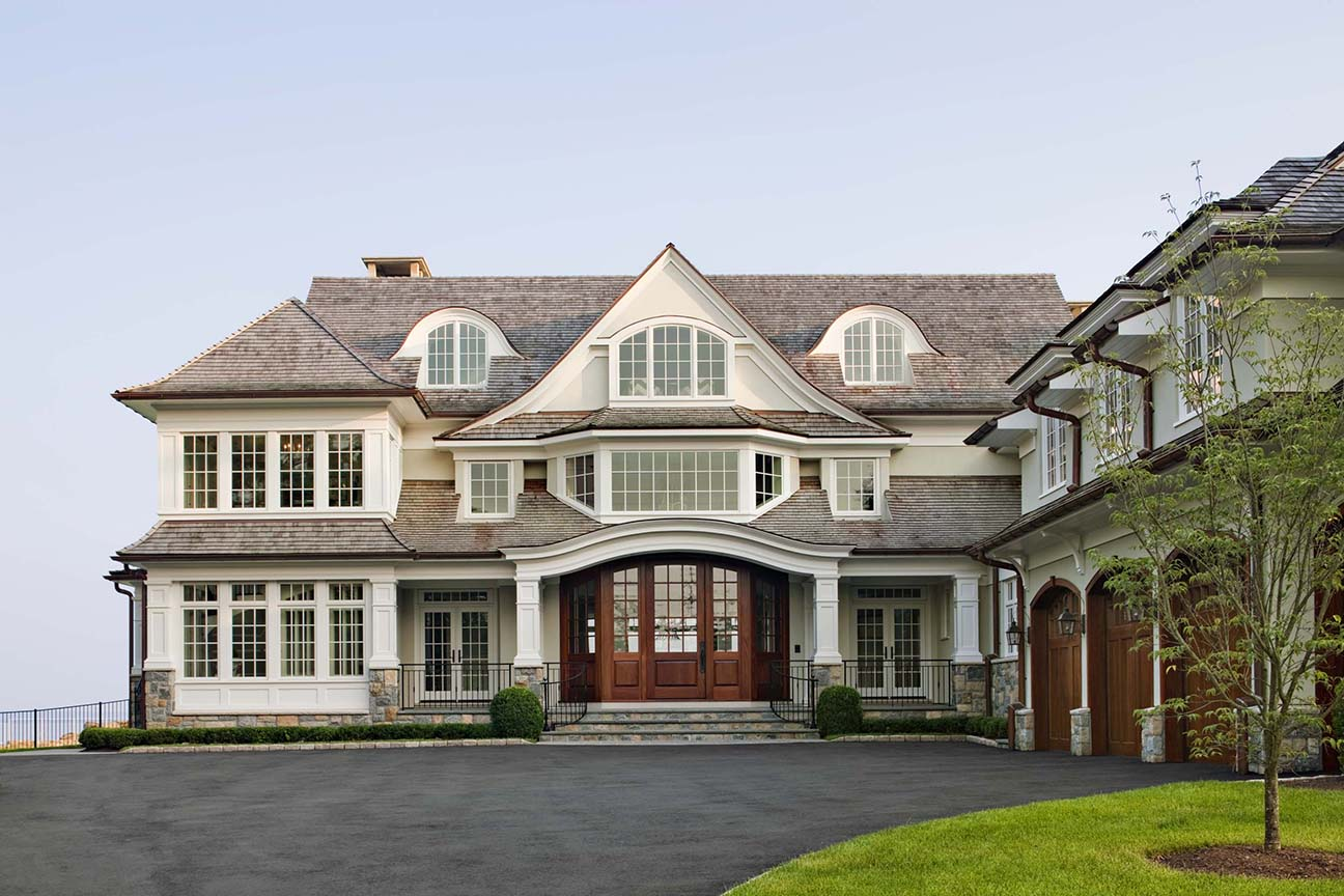 Shingle style on pinterest shingle style homes cedar for New home architecture