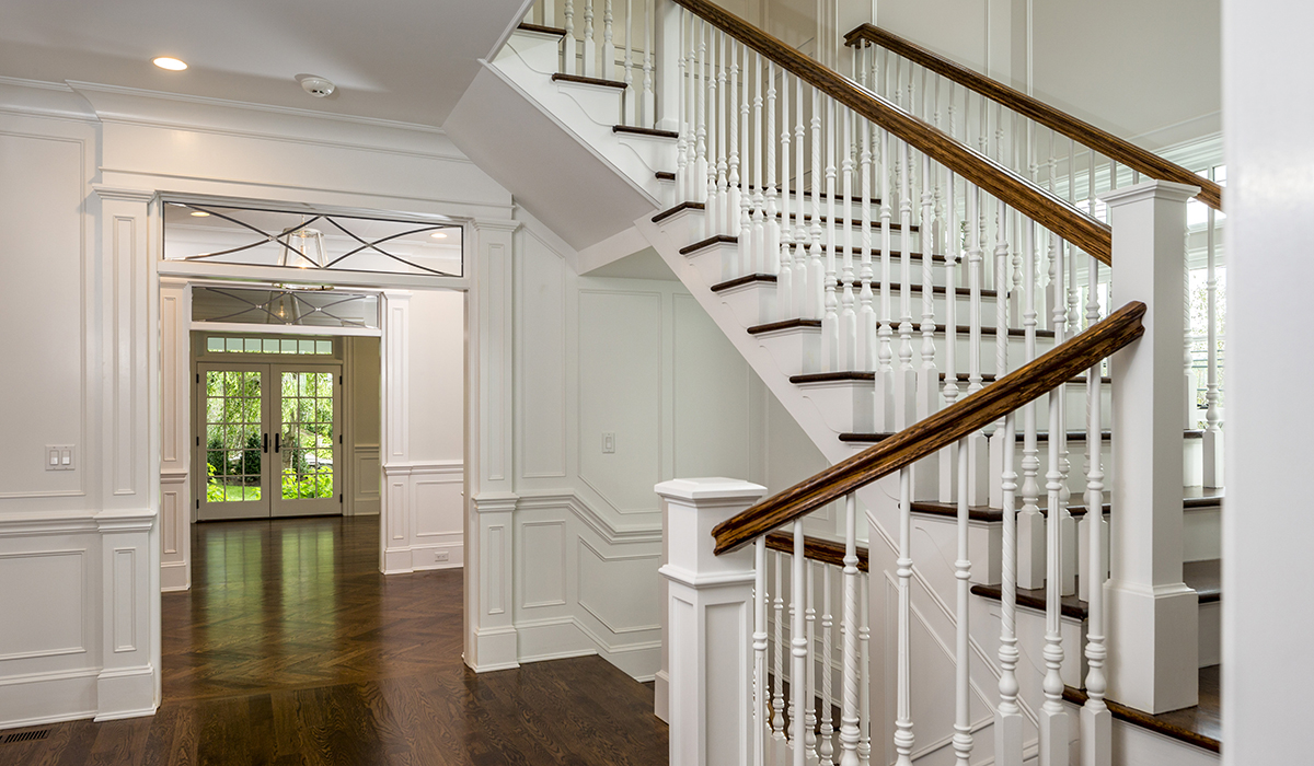 Traditional Shingle Style Custom Home In Greenwich Ct