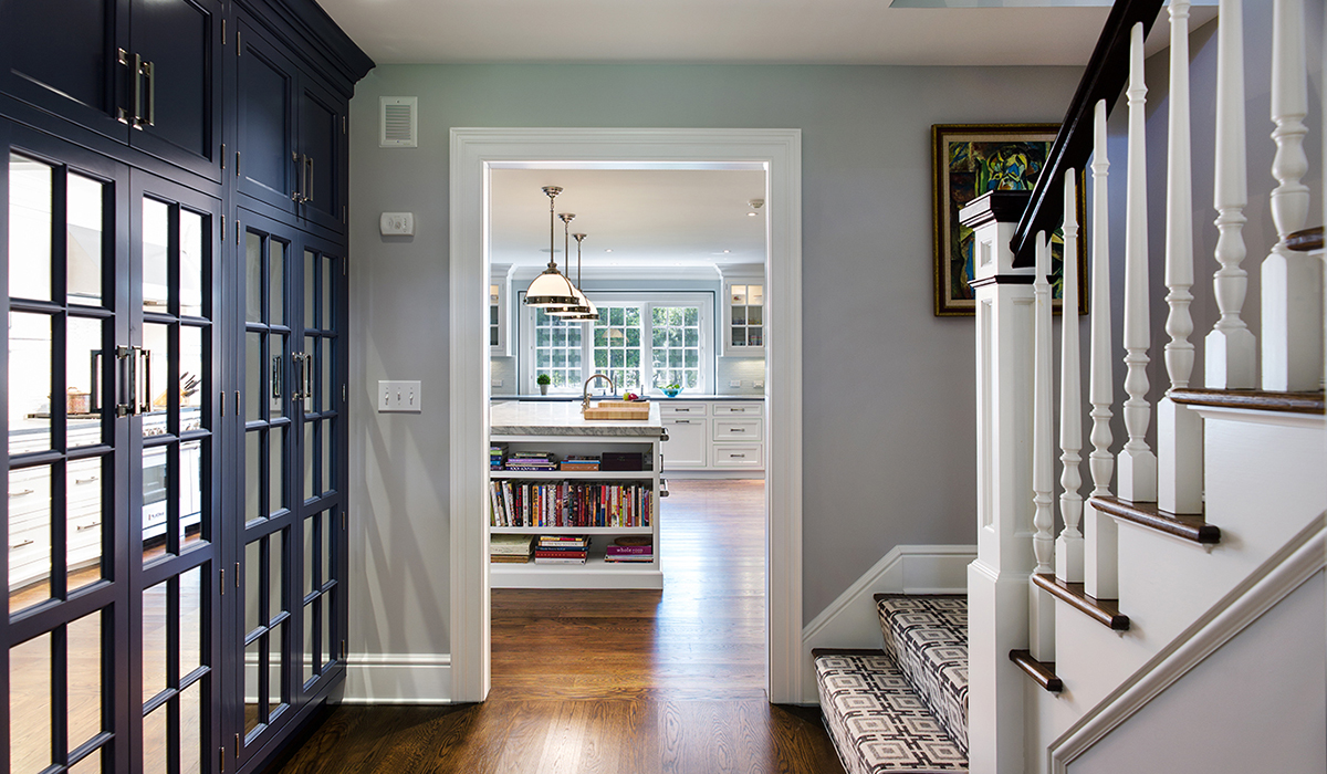 A Colonial Style Home Renovation In Darien Ct 06820 Cardello Architects