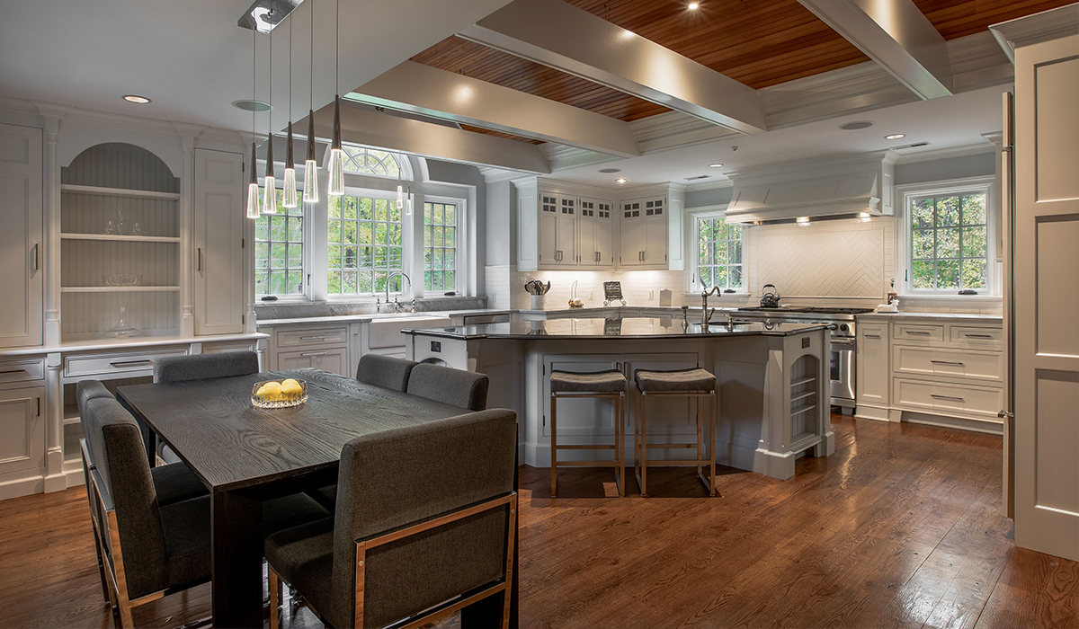 Fairfield, Connecticut traditional style renovation kitchen