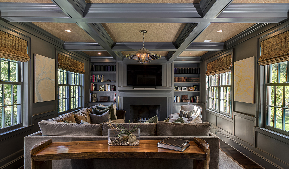Classic colonial home renovation westport ct cardello - Colonial style homes interior ...
