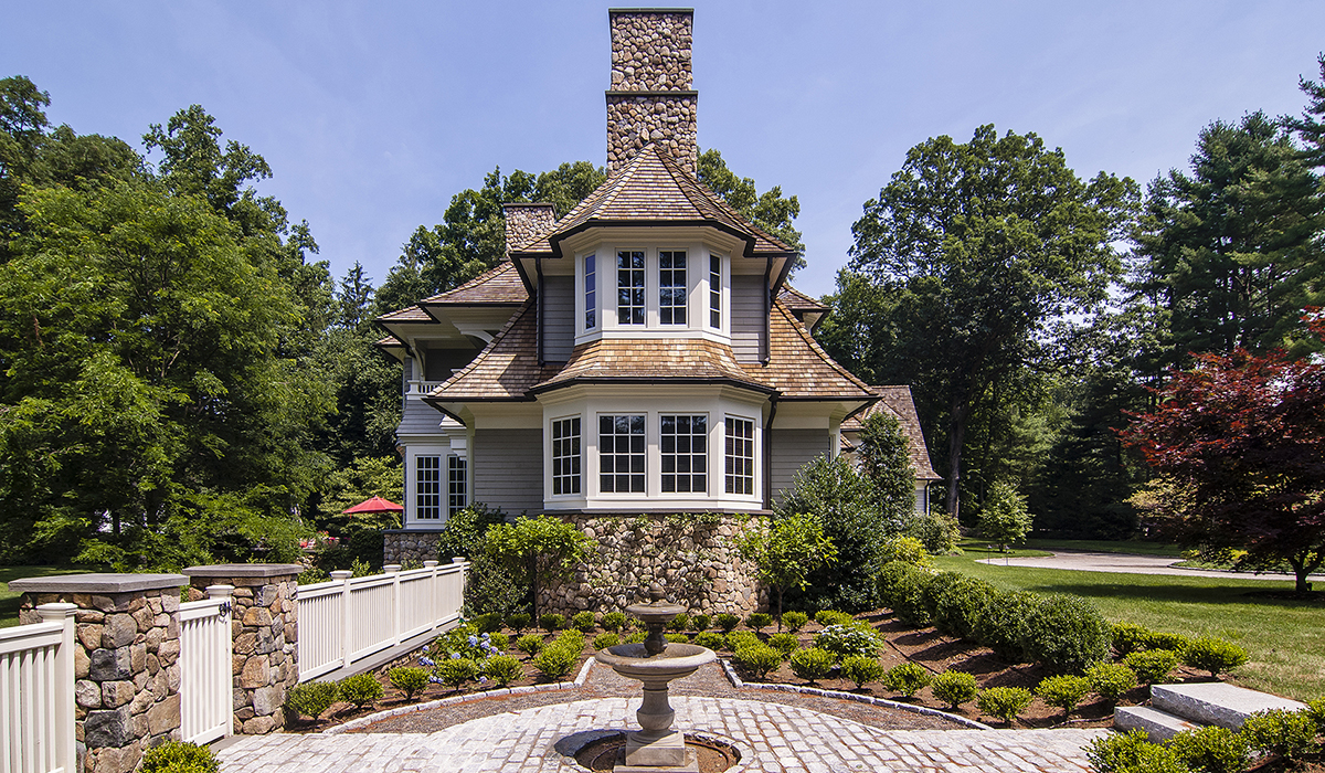 new canaan shingle style home by cardello architects
