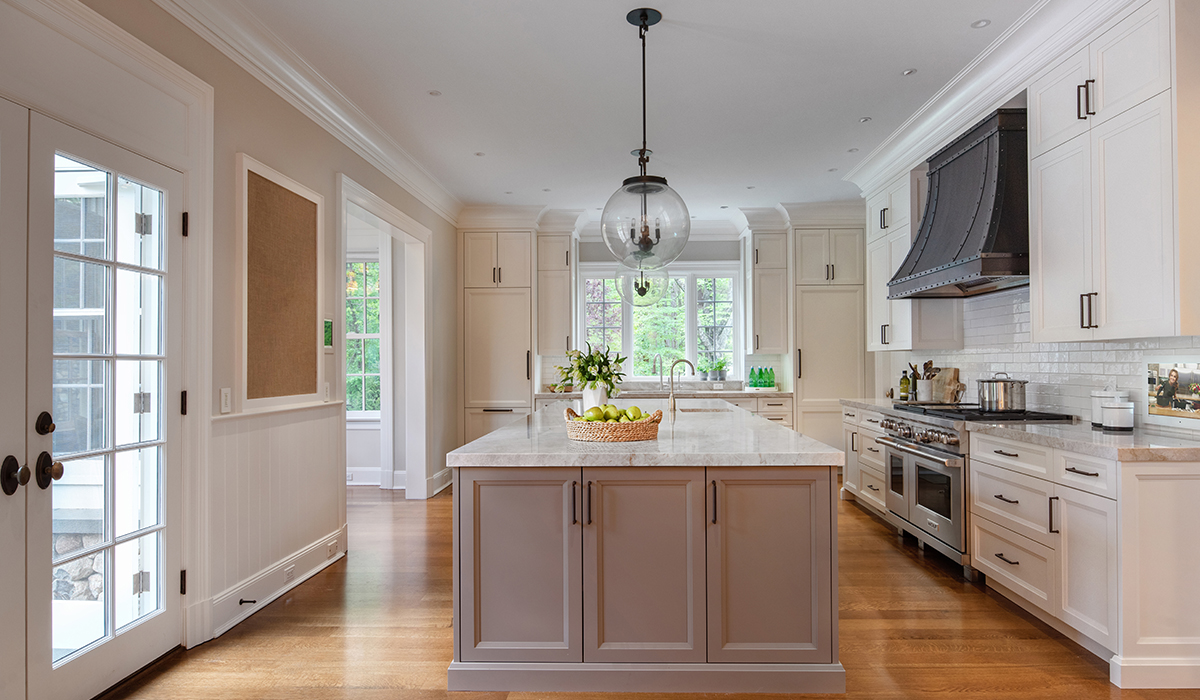 new canaan connecticut residential kitchen renovation in custom designed home by cardello architects