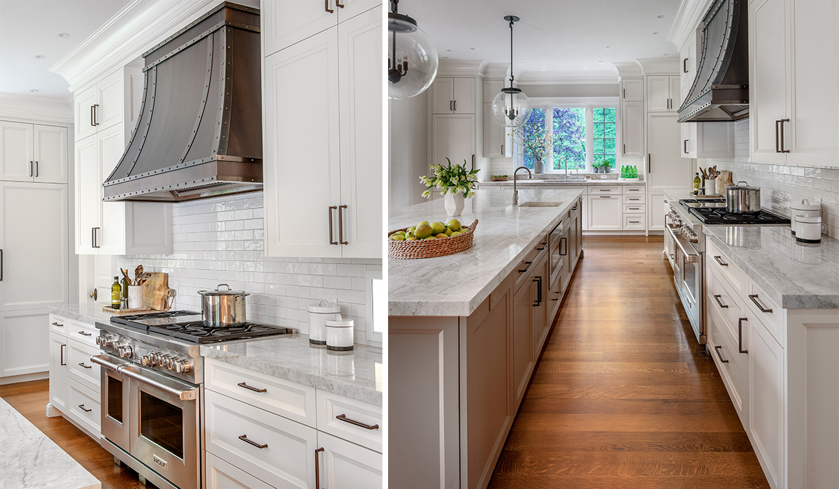new canaan connecticut traditional residential kitchen renovation in custom designed home by cardello architects