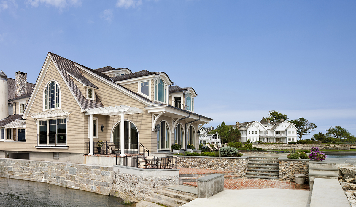 Waterfront Renovation Showcases Luxury House Plans In