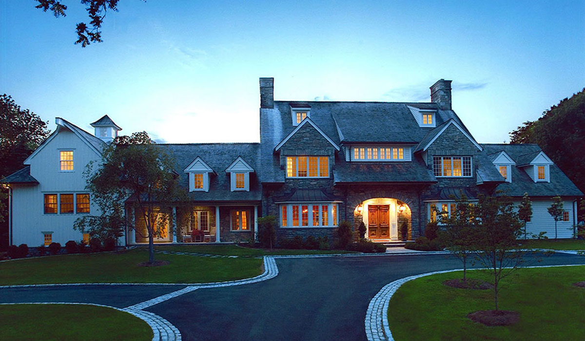 Country Style Home Design Plans In Westport Ct 06880