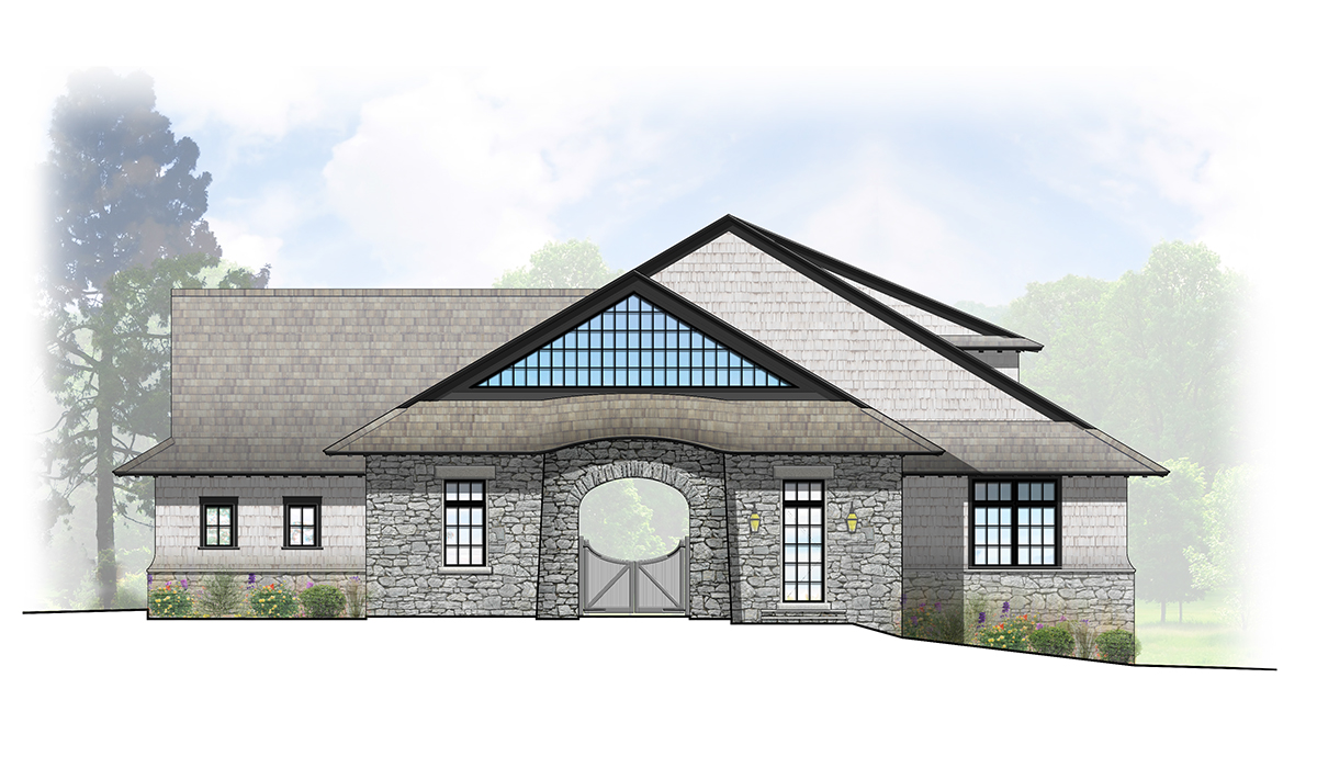 luxury architect california guest house new construction