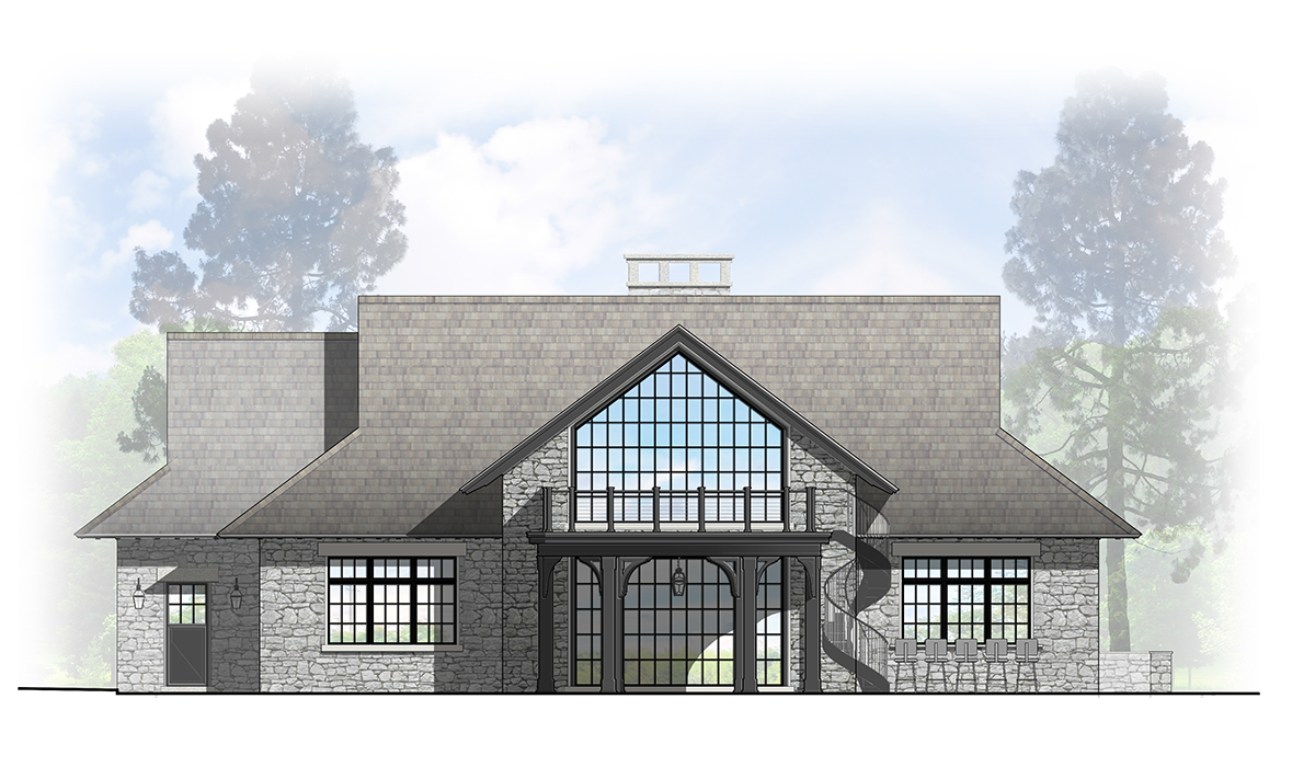 California moden glass steel frame barn by luxury archtiect