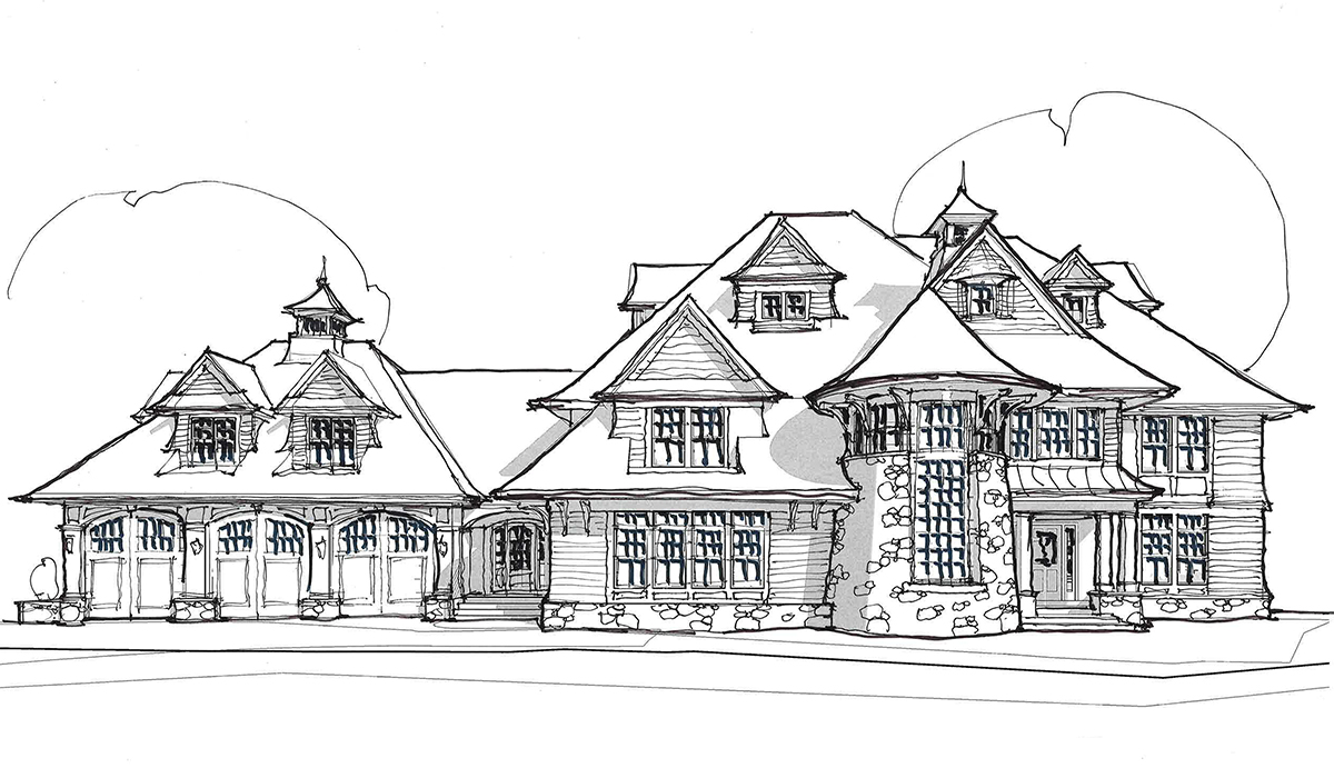 Fairfield county luxury home design by award winning architect