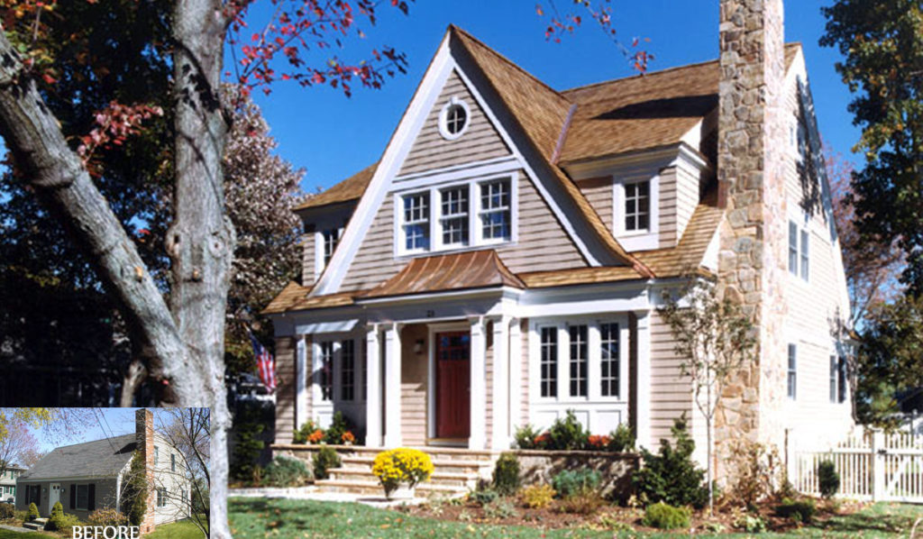 Cape Cod Style House Improves Exterior Feel