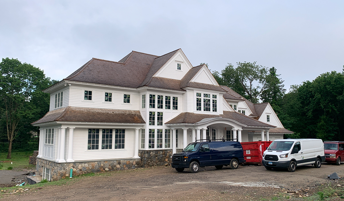 westport connecticut ct shingle style home custom architect design
