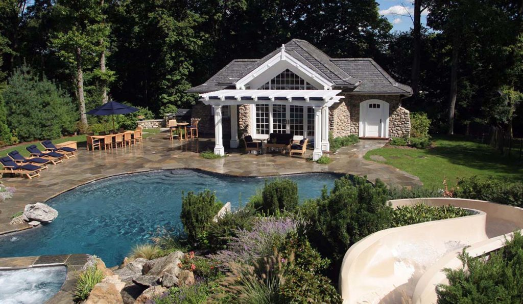 Pool House Designs Created With The Same Or Complementary Materials And  Details As The Home Make For An Overall Beautifully Crafted, Fluid Property.