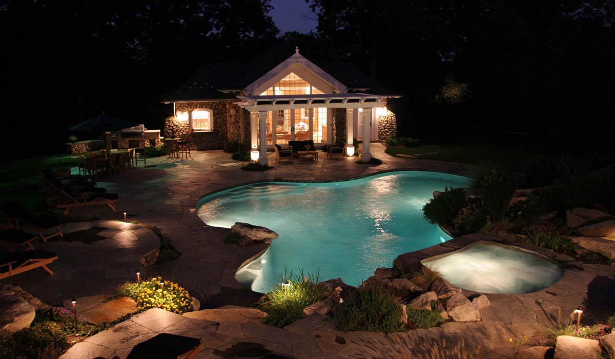 Inspirational Summer Pool House Designs