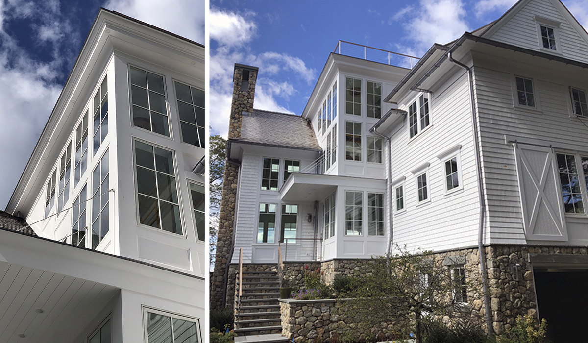 stamford conneticut architect designs custom waterfront home in fairfield county for million dollar client waterfront property custom home design architect