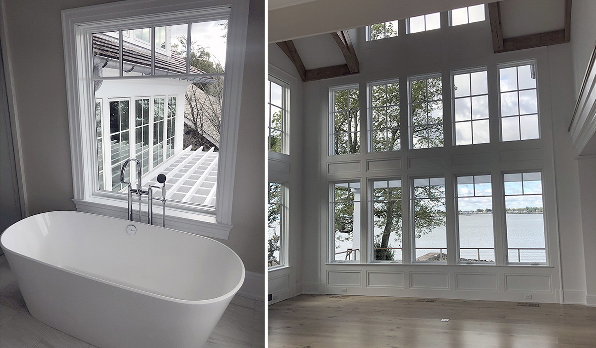 stamford conneticut architect designs custom waterfront home in fairfield county for million dollar home